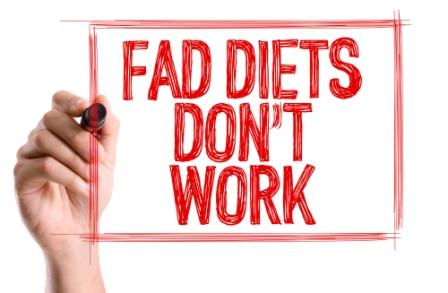Reasons Fad Diets Don't Work